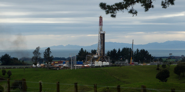 Pictured is the Todd Energy Mangahewa C site.  NZME file pic