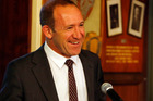 Labour Party Leader Andrew Little spoke on The Nation this morning.  Photo / John Stone