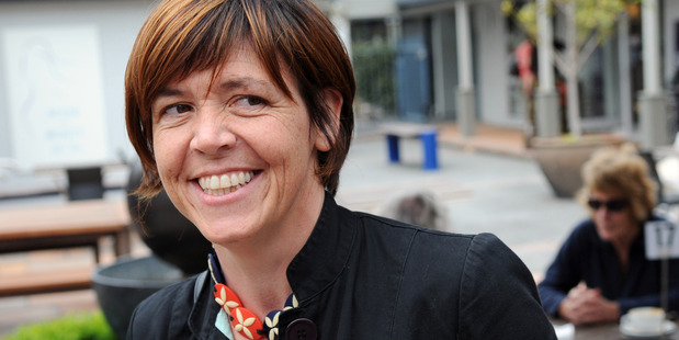 Green MP Jan Logie. Photograph by Mark Mitchell