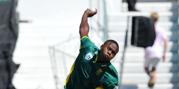 Kagiso Rabada of South Africa. Photo / Muzi Ntombela / BackpagePix