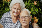 Lola and Jack Pilcher from Tamatea, Napier, celebrate their 70th wedding anniversary on Sunday. 7th March 2017 Hawke's Bay Today Photograph by Paul Taylor.