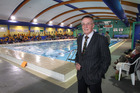 CHB District Community Trust chairman Pat Gallagher at the AW Parsons Pool in Waipukurau, which has gone from strength to strength in the last 20 years. Photo/Duncan Brown
