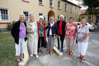 Revisiting happy days at Lupton House are former boarding students Shirley Reid (left), Valerie Mann, Joan Burgess, Judy Berguist, Nola Cochrane, Heather Mapp and Janet Graham. Photo/Michael Cunningham