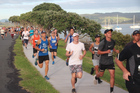 The weather won't be quite this picturesque for the 2017 Beach 2 Basin Run/Walk this Sunday. Photo/Supplied