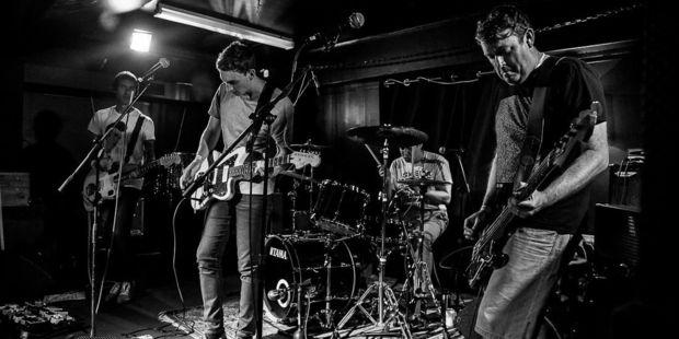 Hamilton shoegaze band Ancient Tapes. Photo/Ngamihi Pawa