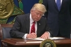 President Donald Trump's new travel ban order will temporarily halt entries to the United States for people from six Muslim-majority countries who are seeking new visas.