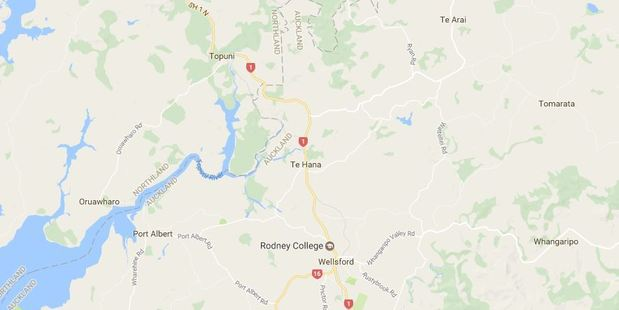 Waimanu Road in Wellsford is closed in both directions. Photo / Google