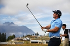 Ryan Fox and Steve Williams make their run at the NZ Open. Photo / photosport.nz