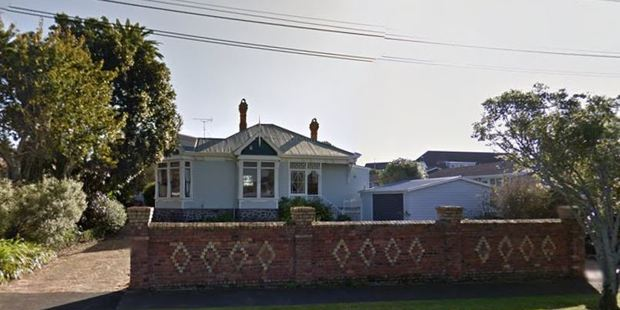 The Edwardian villa at 184 Arthur St in Onehunga, to be moved to the Devonport site.
