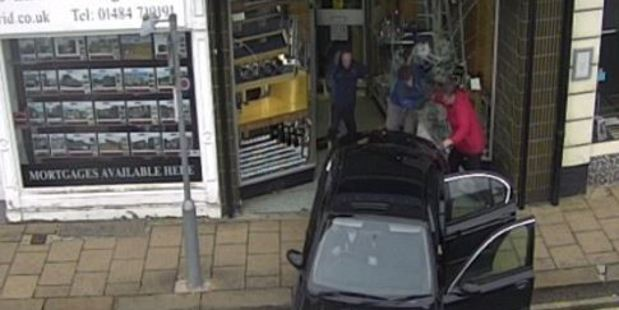 Loading The 66-year-old grandmother tackled two violent robbers carrying out a ram-raid on a jewellery shop.