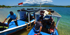 Boats headed to Menjangan Island, Bali. Photo / John Hewson CNG