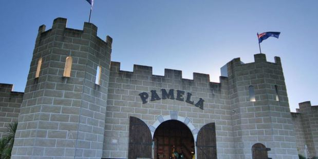 The Castle Pamela in the Waikato on a property with a rating valuation of just over $1 million.