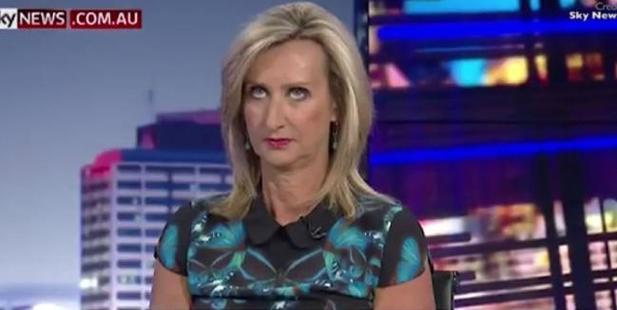 Janine Perrett rolls her eyes at Ross Cameron. Photo / News.com.au
