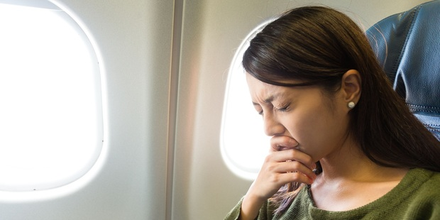Aircraft cabins are a ripe breeding ground for viruses.  Photo / 123RF
