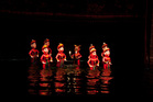 Water puppet show in Thang Long Theater in Hanoi Vietnam. Photo / 123RF