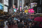 The Times Square area of New York. Photo / Bloomberg-Washington Post