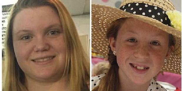 Lindsay German, 14 and Abigail Williams, 13, were found dead last month.