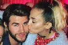 Liam Hemsworth and Miley Cyrus. Photo / Instagram