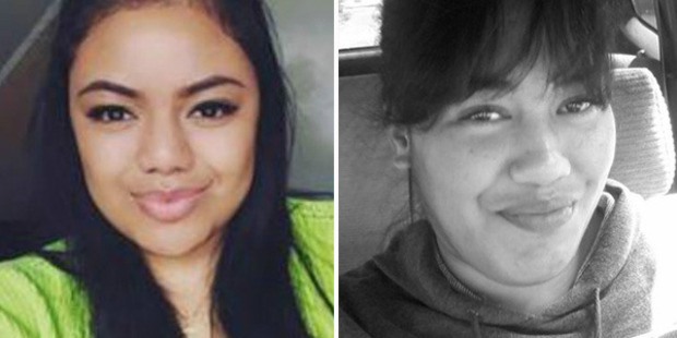 Keleiola Pifeleti (left) was killed by her cousin in a drink-drive crash and Elizabeth Natua was killed by her brother. Photos / Supplied