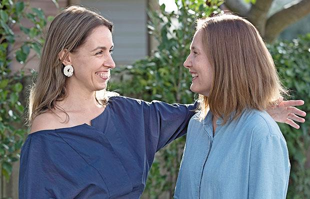 Since moving to New Zealand, Minna Pesonen (right) has made some very close friends, including Anita Totha. Photo / Brett Phibbs