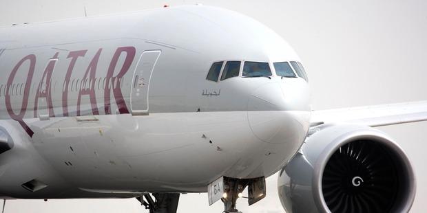 The Qatar 777 LR. Photo / Supplied