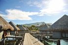 Le Meridien resort, Tamanu, Tahiti.