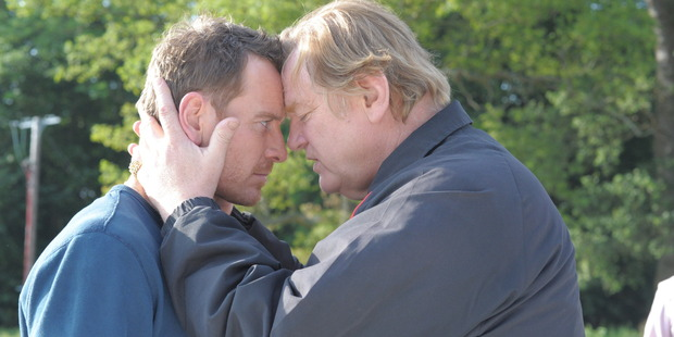 Michael Fassbender and Brendan Gleeson star in Tresspass Against Us.