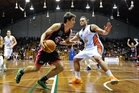 Shou Nisbet of the Rams in action against the Southland Sharks. Photo / Photosport