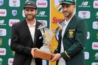 Kane Williamson and Faf du Plessis have enjoyed an amiable relationship. Photo / photosport.nz