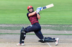 Peter Fulton of Canterbury batting during the Ford Trophy Final cricket game. Photo / photosport