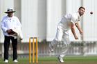 Canterbury bowler Andrew Ellis. Photo / Photosport