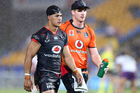 Roger Tuivasa-Sheck was substituted against the Storm after suffering a head knock. Photo / photosport.nz