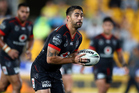Shaun Johnson will be looking to lead the Warriors to a second win of the season. Photosport
