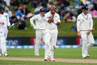 Jeetan Patel will be hoping to retain his place for the second test. Photo / photosport.nz