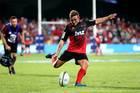 Mitch Hunt was the Crusaders' match-winner for the second straight week. Photo / photosport.nz