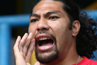 Calling for more help...former England rugby wing Lesley Vainikolo, who emerged out of the Mangere East league club. Photo / Photosport