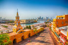 The clock tower gate in Cartagena, Colombia's old city. Photo / 123RF
