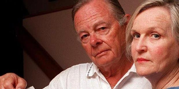 Revelle's parents Ivor, who died in 2010, and Jan Balmain. Photo / News Corp Australia