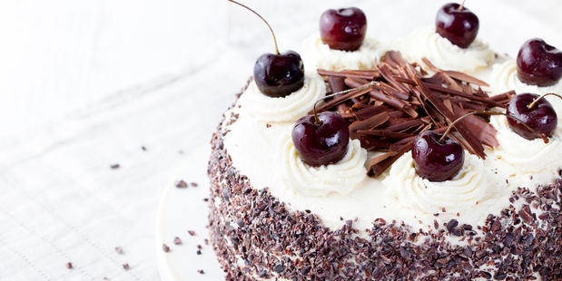9. What's the alcoholic content of Black Forest Gateau? Photo / 123RF