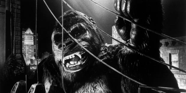 The original King Kong movie from 1933.