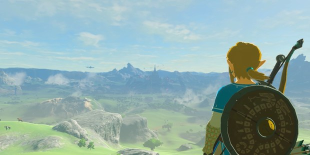"""Loading This image released by Nintendo shows a scene from the video game, """"The Legend of Zelda: Breath of the Wild."""" Image / Nintendo via AP"""