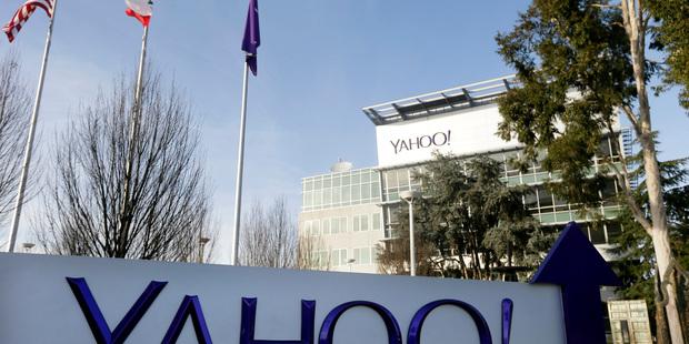 Yahoo's headquarters in Sunnyvale, California. Photo / AP