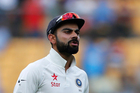 India's captain Virat Kohli. Photo / AP