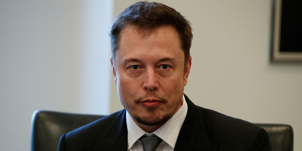 """Their response? """"You're on mate"""". Elon Musk pictured. Photo / AP"""