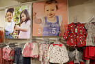 An image of Down syndrome toddler Lily Beddall features as a model for British fashion and homeware retailer Matalan. Photo / AP