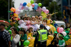 Saint Patrick Day Parade in Auckland, 2009. Photo / Richard Robinson
