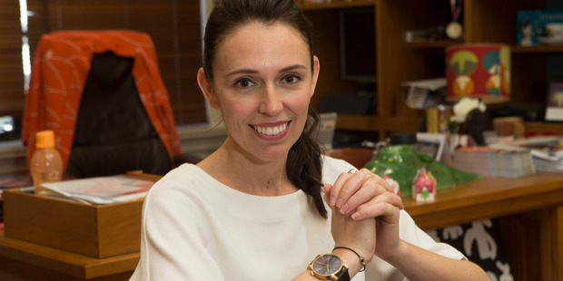 Ardern has worked in Prime Minister Helen Clark's office and been an MP for nine years. Photo / Mark Mitchell