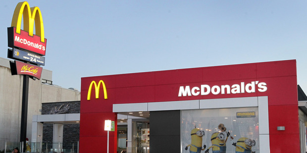 Dinesh Mani started out at the till at McDonald's New Lynn. He now owns five McDonald's restaurants. Photo/Duncan Brown.