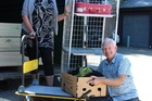 DONATIONS WELCOME: Napier store retail manager Anke Hoggett-Schnebeck (left) and volunteer Mark Trotman (right) are ready for donations for PSEC's new op shop in Napier. Photo/Supplied.