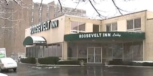 Lawyers allege employees at the Roosevelt Inn knew that a 14-year-old girl was being held against her will. Photo / CBSN